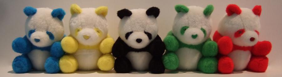 Pandabären von Zhao Bandi, 2008